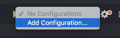 Add Configuration option