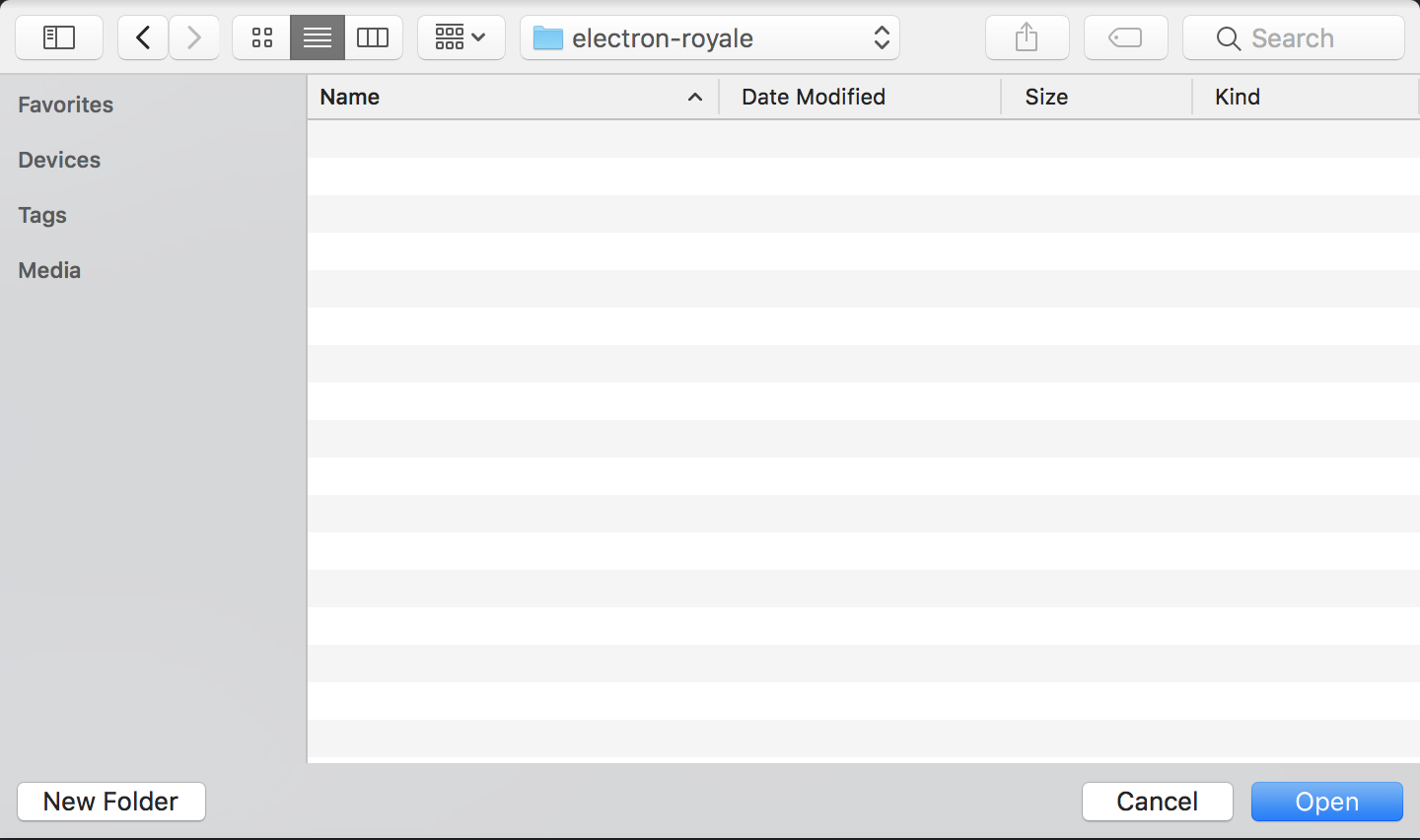 How to create a Desktop Application with Royale and Electron